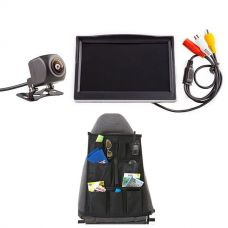 "Adventure Kings Reverse Camera Kit with 5"" Screen + Car Seat Organiser"