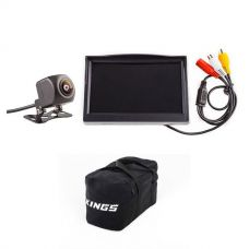 "Adventure Kings Reverse Camera Kit with 5"" Screen + Kings Heavy-Duty Duffle Bag"