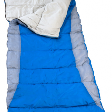 Kings Hooded Sleeping Bag   Rated to -2°   Right-Hand Zipper   Machine Washable