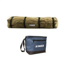 Kings Roof Top Canvas Bag + Cooler Bag