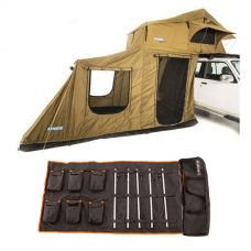 Adventure Kings Roof Top Tent + 6-man Annex + 5 Bar Camp Light Kit