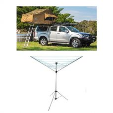 Adventure Kings Roof Top Tent + Camping Clothesline