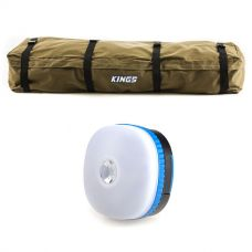 Roof Top Canvas Bag + Adventure Kings Mini Lantern