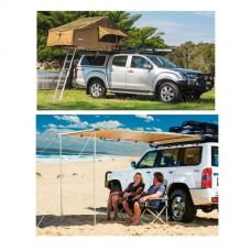 Adventure Kings Roof Top Tent + Awning 2x2.5m