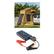 Adventure Kings Roof Top Tent + 4-man Annex + 1000A Lithium Jump Starter