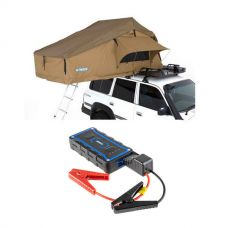 Adventure Kings Roof Top Tent + 1000A Lithium Jump Starter