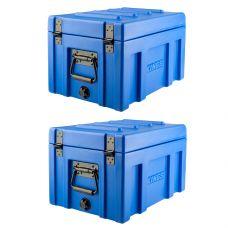2x Kings 45L Tough Front Opening Storage Box