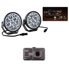 """Adventure Kings Domin8r Xtreme 7"""" Essential LED Light Pack + Adventure Kings Dash Camera"""