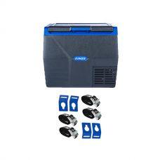 Kings 35L Fridge / Freezer + Portable Fridge Tie-Down Kit (4-Pack)