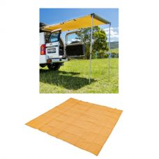 Adventure Kings Rear Awning - 1.4 x 2m + Adventure Kings - Mesh Flooring 3m x 3m