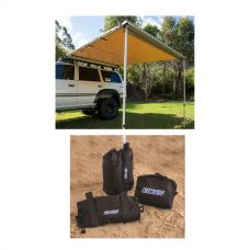 Adventure Kings Awning 2.5x2.5m + Adventure Kings Sand bag (pair)