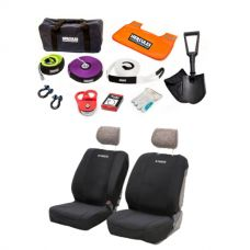 Hercules Complete Recovery Kit + Adventure Kings - Neoprene Front Seat Covers (Pair)