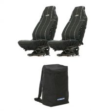 Adventure Kings Heavy Duty Seat Covers (Pair) + Adventure Kings Dirty Gear Bag