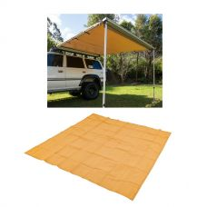 Adventure Kings Awning 2.5x2.5m + Mesh Flooring 3m x 3m