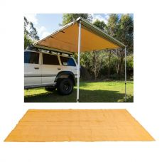 Adventure Kings Awning 2.5x2.5m + Mesh Flooring 6m x 3m