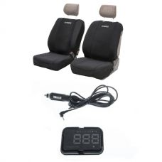 Adventure Kings Neoprene Front Seat Covers (Pair) + Adventure Kings Heads Up Display (HUD)