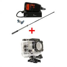 Oricom UHF380PK In-Car 5W CB Radio + Adventure Kings Action Camera
