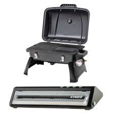 Gasmate Voyager Portable BBQ + Adventure Kings Vacuum Sealer