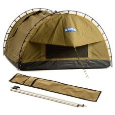 Adventure Kings Big Daddy Canvas Shell & Poles | 400gsm Polycotton Canvas