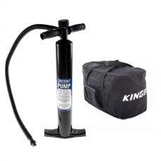 Single-Action Paddleboard Pump + Heavy-Duty Duffle Bag