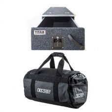 Titan Single Drawer 900mm + 40L Large PVC Duffle Bag