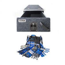 Titan Single Drawer 900mm + Big Daddy Bush Mechanic Tool Kit