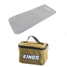 Self-Inflating Foam Mattress - Single + Toiletry Canvas Bag