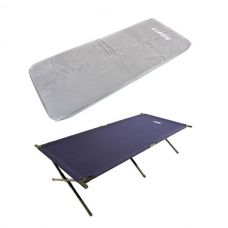 Adventure Kings Self-Inflating Foam Mattress - Single + Camping Stretcher Bed