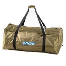 Kings Deluxe Single Swag Polyester Bag | 350GSM PVC-Coated 210D Polyester | Heavy-Duty Zippers, Buckles & Handles