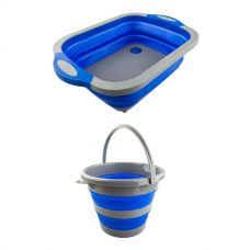 Adventure Kings Collapsible Sink + Collapsible 10L Bucket