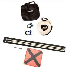 Hercules Snatch Strap Kit + Adventure Kings 3m Sand Safety Flag
