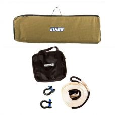 Hercules Snatch Strap Kit + Recovery Tracks Canvas Bag