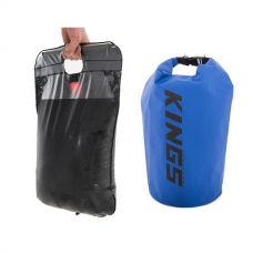 Adventure Kings Solar Shower + 15L Dry Bag