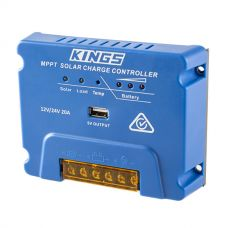 Kings MPPT Solar Regulator | 20A Charging | Highly efficient for more power