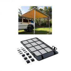 Roof Top Tent Racks + Adventure Kings Awning 2.5x2.5m