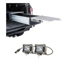 "Adventure Kings Drawer Table suitable for 1070mm Titan Drawers + 4"" LED Light Bar (Pair)"