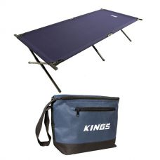Adventure Kings Camping Stretcher Bed + Cooler Bag