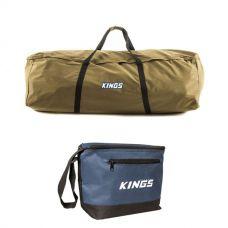 Kings Swag Canvas Bag + Cooler Bag