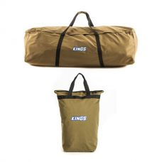 Adventure Kings Swag Canvas Bag + Doona/Pillow Canvas Bag