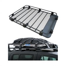 Steel Roof Rack 3/4 Length + Half-Length Premium Waterproof Rooftop Bag