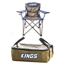 Throne Camping Chair + Adventure Kings Clear Top Canvas Bag
