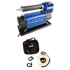 Thumper Air Compressor MkIII + Hercules Snatch Strap Kit