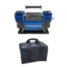 Thumper Max Dual Air Compressor + Kings Polyester Air Compressor Bag