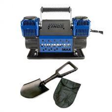 Thumper Max Dual Air Compressor + Recovery Folding Shovel