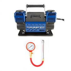 Thumper Max Dual Air Compressor + Kings Kwiky - Tyre Gauge