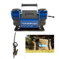 Thumper Max Dual Air Compressor + Kings 3in1 Ultimate Air Tool + Canvas Thumper Bag