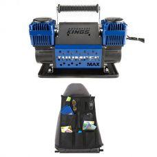 Thumper Max Dual Air Compressor + Car Seat Organiser