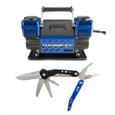 Thumper Max Dual Air Compressor + Adventure Kings 18-in-1 Multi-Tool