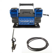 Thumper Max Dual Air Compressor + Kings 3in1 Ultimate Air Tool + Thumper Air Hose Extension 4m