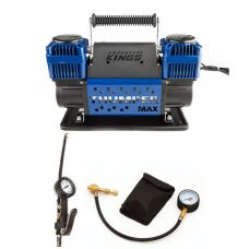 Thumper Max Dual Air Compressor + Kwiky Tyre Deflator + 3in1 Ultimate Air Tool